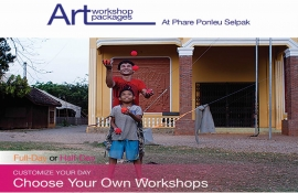 Art workshops at Phare Circus