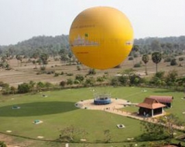Angkor Tethered Balloon is no longer operating  in Siem Reap / Angkor as of Monday 22nd January 2018 onwards