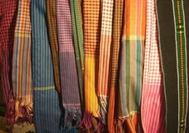 The Krama: a Cambodian patchwork