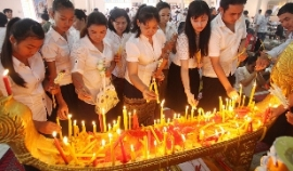 Pchum Ben & memorial day of the past King Norodom Sihanouk