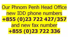 ALL DREAMS NEW PHONE AND FAX NUMBERS