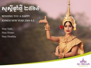 Happy Khmer New Year, Stay Safe !
